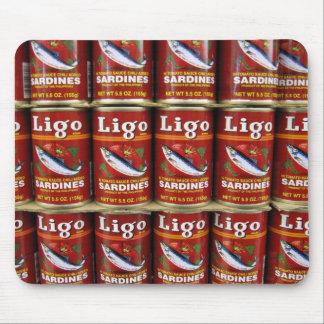 De Sardine van Ligo kan Mousepad Muismat