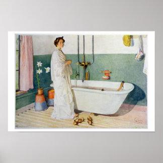 De Scène van de badkamers - Lisbeth, bar. in 'Lass Poster