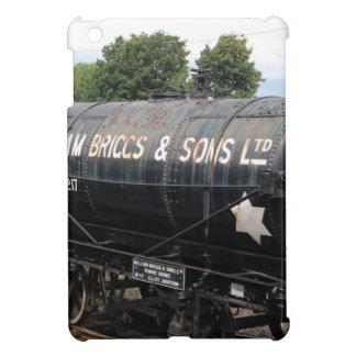 De scène van de spoorweg - tankers - wijnoogst iPad mini hoesjes