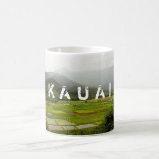 De Scène van het Landschap van Kauai, Hawaï Koffiemok