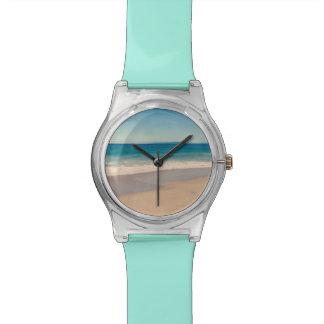 De Scène van het Strand van Aqua Polshorloge