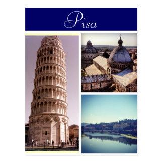 De Scènes van Pisa Briefkaart