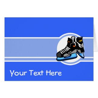 De Schaatsen van het hockey; Blauw Kaart