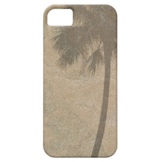 De Schaduw van de palm op Van het Achtergrond zand Barely There iPhone 5 Hoesje
