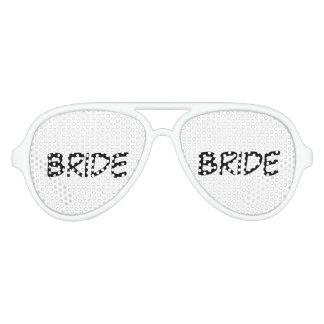 """De Schaduwen van de Partij van de """"bruid"""" Aviator Zonnebril"""