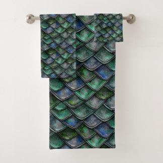 De Schalen van de draak - Smaragd Bad Handdoek