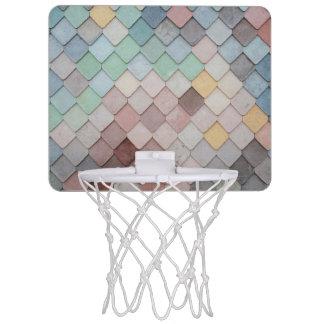 De Schalen van de pastelkleur Mini Basketbalring