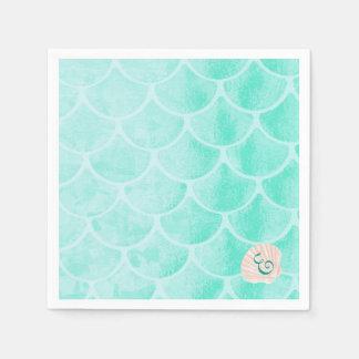 De Schalen | Zeeschelp | van de Meermin van Aqua Papieren Servetten