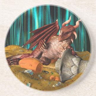 De Schat van de draak Zandsteen Onderzetter