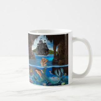 De Schat van het Koraalrif van de meermin Koffiemok