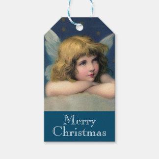 De schattige Engel van Kerstmis Cadeaulabel
