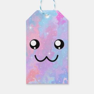 De schattige Leuke Magische Pastelkleur van Kawaii Cadeaulabel