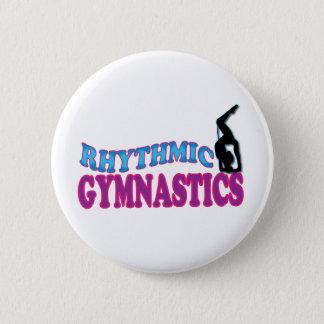 De schattige Ritmische Giften van de Gymnastiek Ronde Button 5,7 Cm