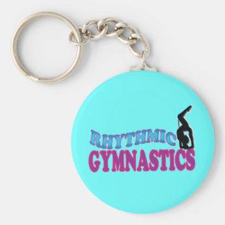De schattige Ritmische Giften van de Gymnastiek Sleutelhanger