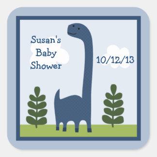De schattige Stickers van Dino/van de Dinosaurus
