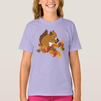 De schattige T - shirts van de Eekhoorn van de