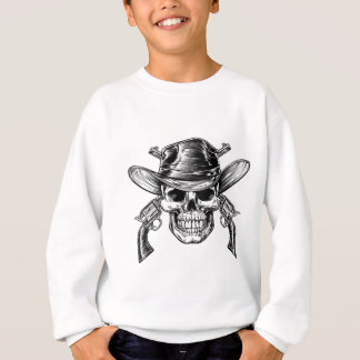 De Schedel en de Pistolen van de cowboy Trui