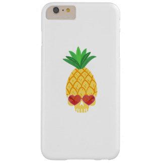 De Schedel Koele Sunglassess van de Ananas van de Barely There iPhone 6 Plus Hoesje