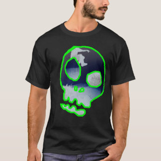 De schedel Parkour keert om T Shirt