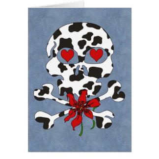 De Schedel Valentijn van de koe Kaart