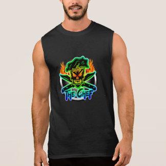 De Schedel van de Chef-kok van het neon T Shirt
