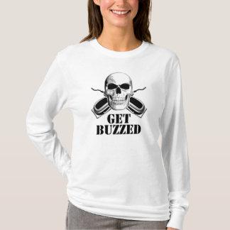 De Schedel van de kapper: Word Gezoemd T Shirt
