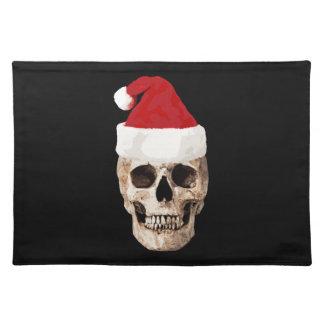 De Schedel van de Kerstman - Kerstmis is Dood Placemat