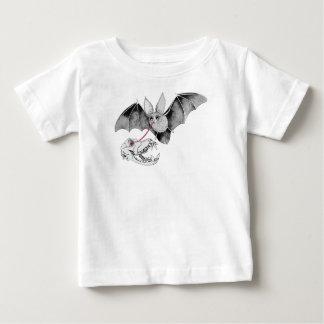 De Schedel van de knuppel Baby T Shirts