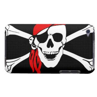 De Schedel van de piraat en dwarsbot iPod Touch Hoesje