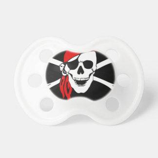 De Schedel van de piraat en gekruiste knekelsVlag Spenen