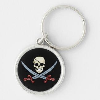 De Schedel van de piraat en het Gekruiste Sleutelhanger