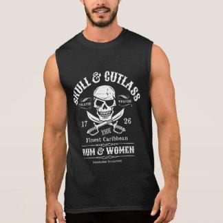 De Schedel van de piraat met het Flard en de T Shirt
