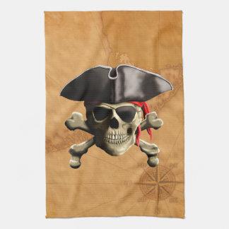 De Schedel van de piraat Theedoek