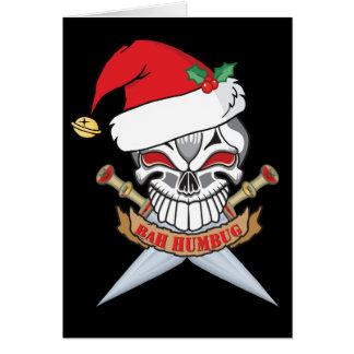 De Schedel van de Piraat van de Kerstman van Kaart