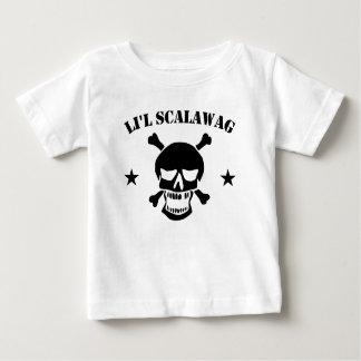 De Schedel van de Piraat van de Rakker van Li'l Baby T Shirts