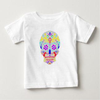 De Schedel van de suiker Baby T Shirts