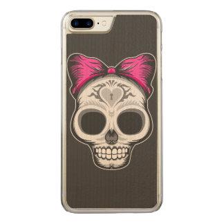 De Schedel van de suiker Carved iPhone 7 Plus Hoesje