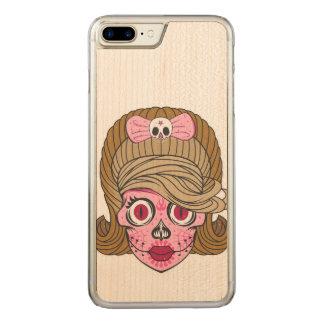De Schedel van de suiker Carved iPhone 8 Plus / 7 Plus Hoesje
