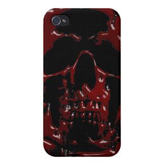 De Schedel van het bloed iPhone 4 Cases