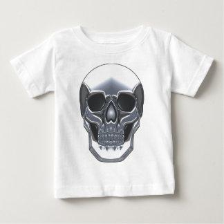 De Schedel van het chroom Baby T Shirts