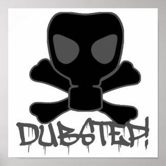 De Schedel van het Gasmasker van Dubstep Poster