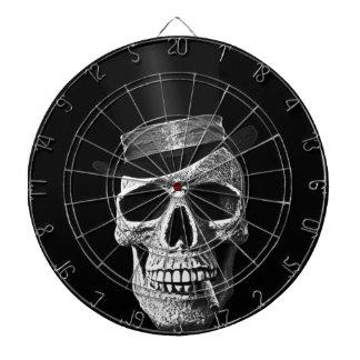 De schedel van hoge zijden dartborden