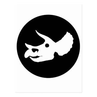 De Schedel van Triceratops Briefkaart