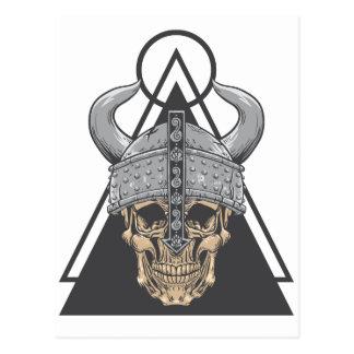De Schedel van Viking Briefkaart