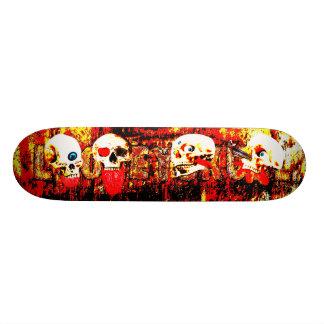 De Schedels van de hel 18,4 Cm Mini Skateboard Deck