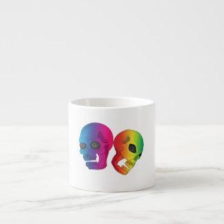 De Schedels van de regenboog Espresso Kop