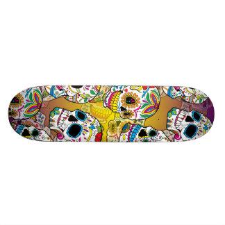 De Schedels van de suiker 18,1 Cm Old School Skateboard Deck