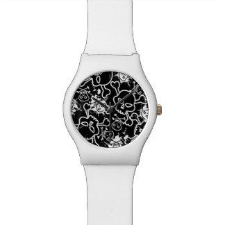 De schedels van Graffiti Horloge