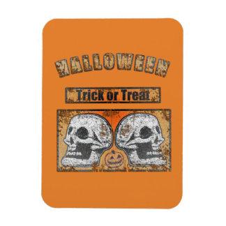 De Schedels van Halloween - Trick or treat Magneet