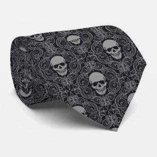 De Schedels van het stropdas/van het Damast Persoonlijke Stropdas